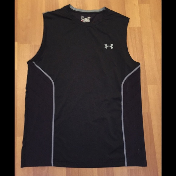 Men's Under Armour tank chevron style pattern